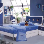 blue-miceky-mouse-bedroom